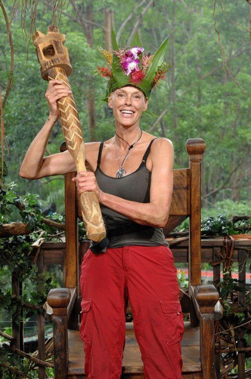 Brigitte Nielsen wurde zur Dschungelkönigin 2012 gewählt