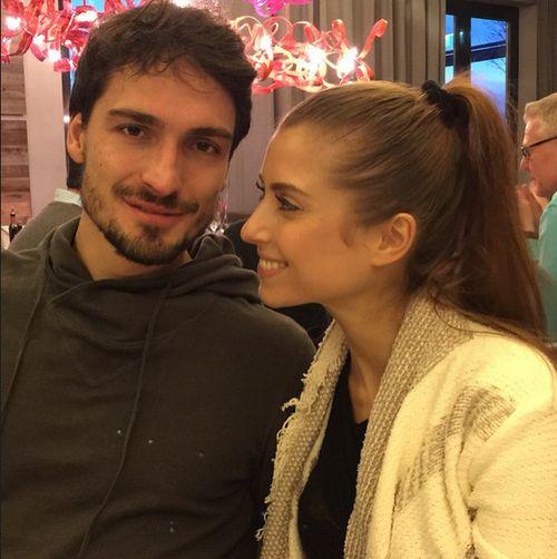 Cathy und Mats Hummels sind frischverheiratet und überglücklich