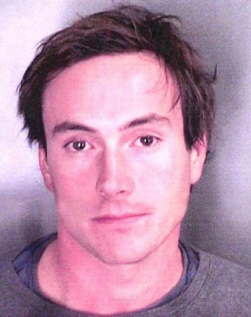 Das Polizeifoto nach seiner Verhaftung