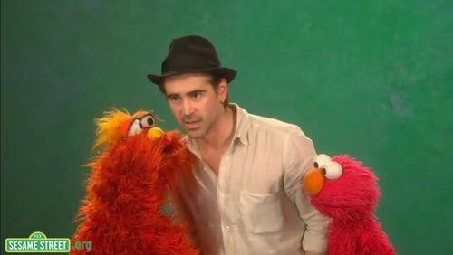 Colin Farrell hatte einen Gastauftritt in der Sesamstraße