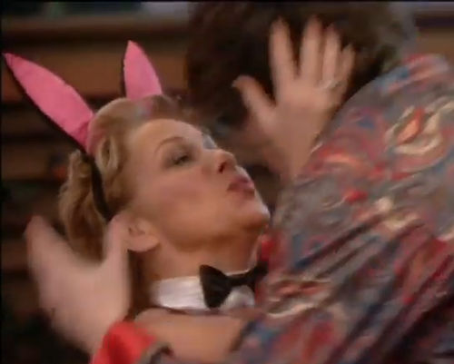 Denise Welsh wird von Frankie Cocozza geküsst!