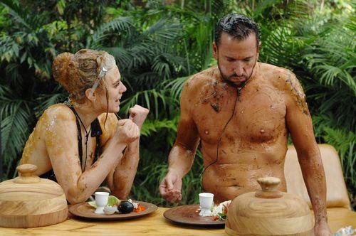 Michael Wendler zeigte sich im Dschungel recht nudistisch veranlagt