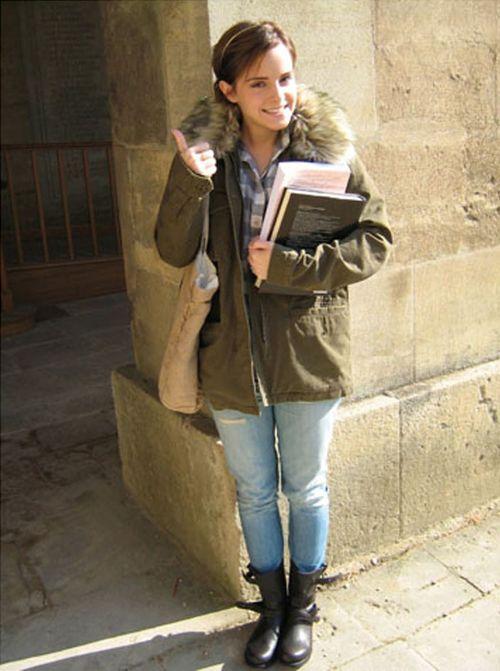 Emma teilt ihren Schnappschuss vom ersten Uni-Tag
