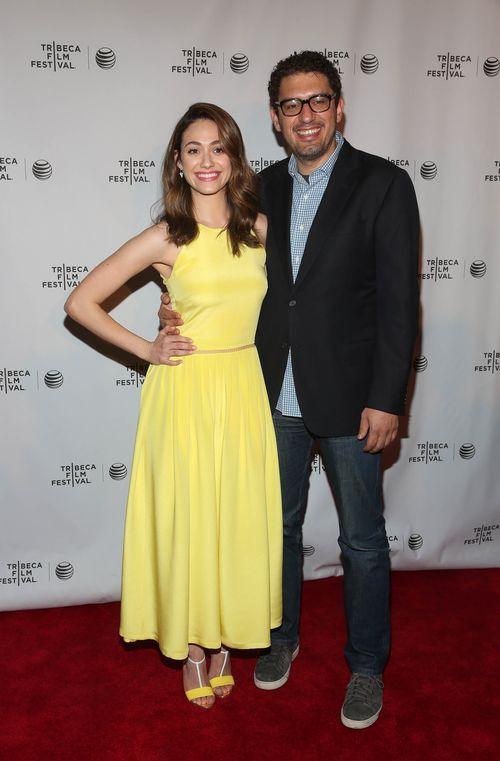 Emmy Rossum und Sam Esmail haben sich verlobt