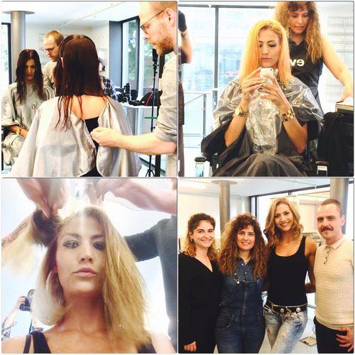 Fiona Erdmann ist jetzt blond