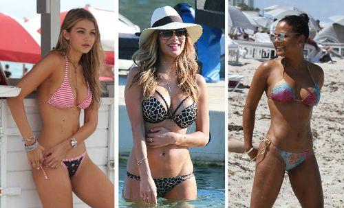 Viele Stars zeigen sich jetzt als sexy Strandnixen