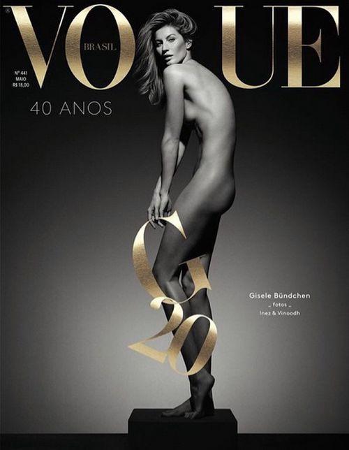 Gisele Bündchen ziert gerade das Cover der Vogue Brasil