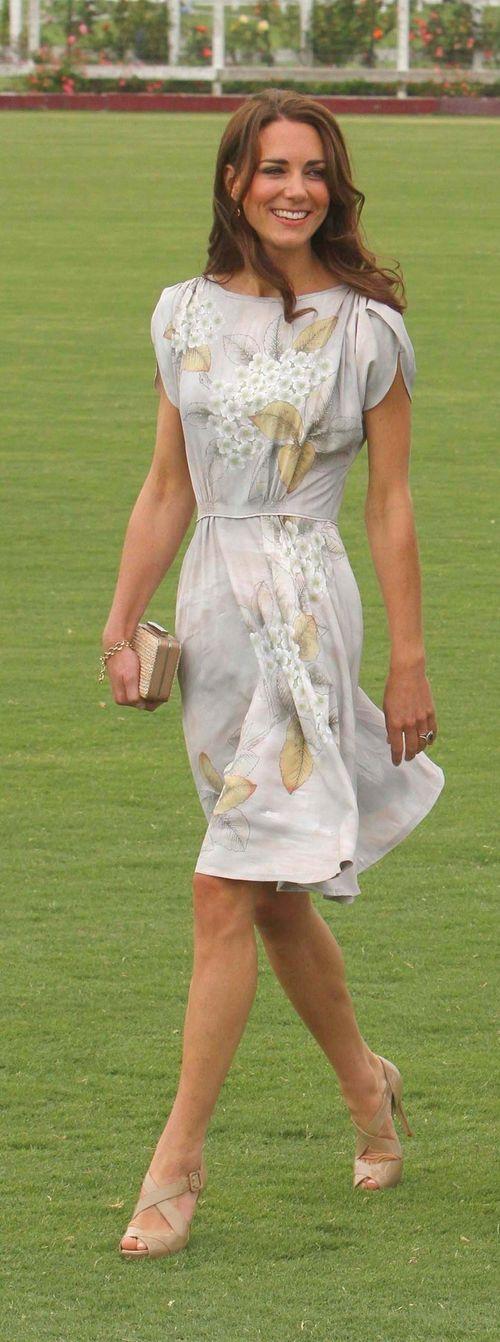 Herzogin Kate ist stets gut gekleidet