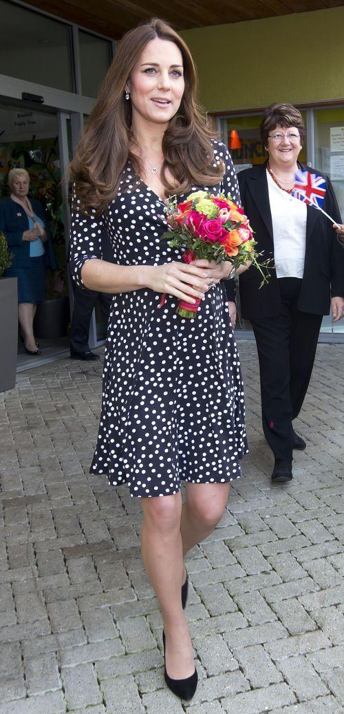 Herzogin Kate war heute shoppen