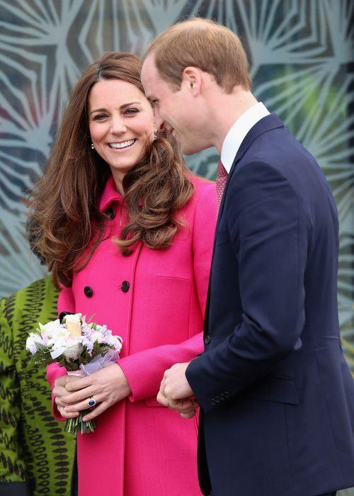 Herzogin Kate und William warten gerade auf ihr zweites Baby