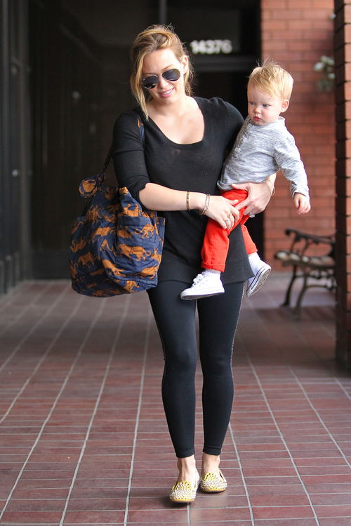 Hilary Duff mit Sohn Luca