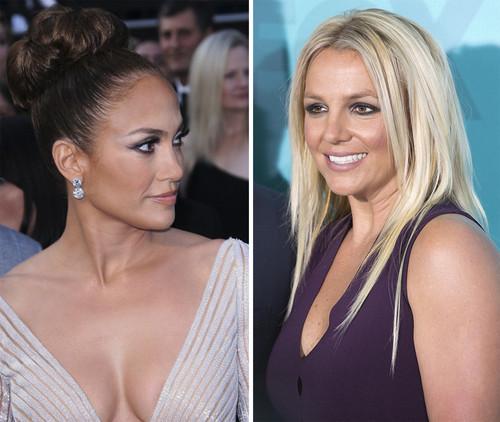Jennifer Lopez und Britney Spears stehen im Gehalts-Duell