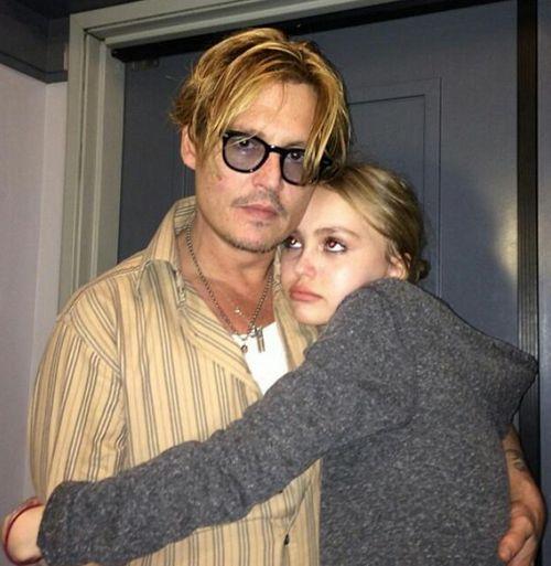 Johnny Depp macht sich Sorgen um seine Tochter Lily-Rose