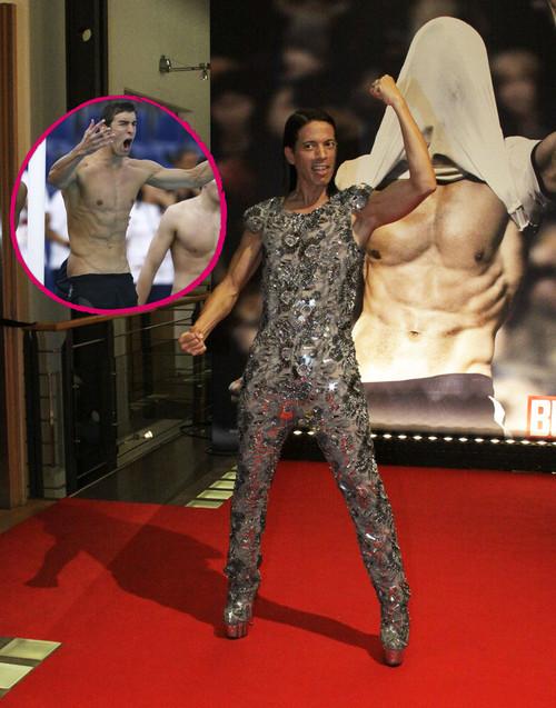 Jorge Gonzalez mag die Olympia-Schwimmer ganz besonders
