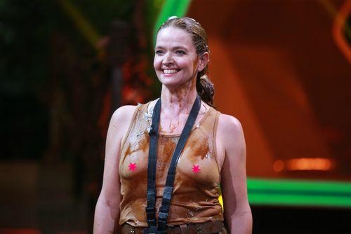 """Julia Biedermann zeigte bei """"Ich bin ein Star - Lasst mich wieder rein"""" ihre Nippel"""