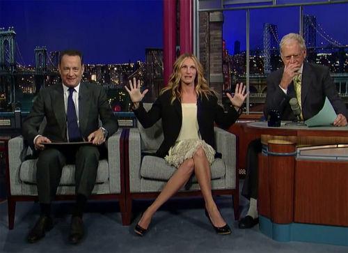 Julia Roberts musste mehr oder weniger schwierige Fragen über Tom Hanks beantworten