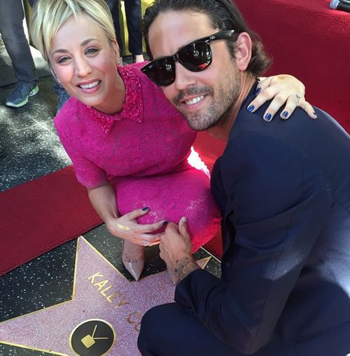Kaley Cuoco und Ehemann Ryan Sweeting hatten allen Grund zu feiern