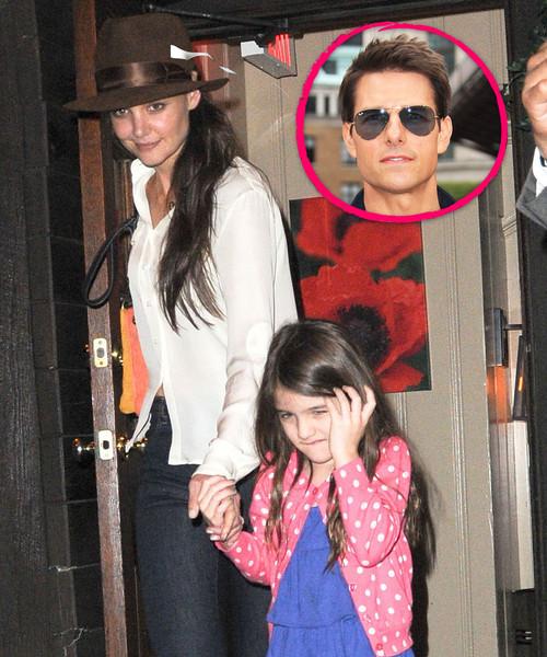 Tom Cruise glaubt, Katie Holmes benutze Suri als Waffe gegen ihn