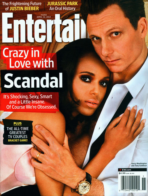 Kerry Washington und Tony Goldwyn haben in der Serie &quot;Scandal&quot; eine Affre