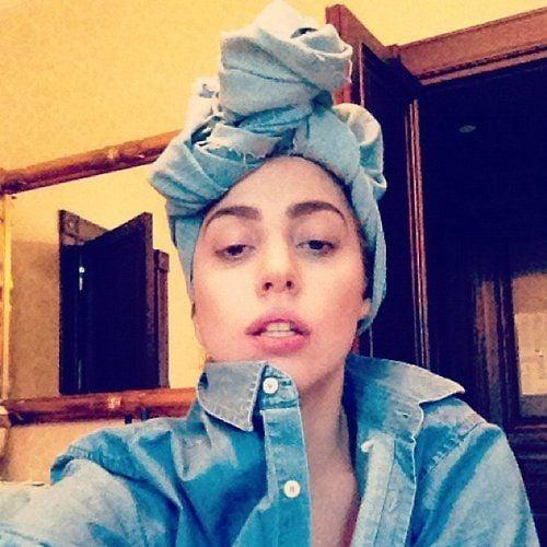 Lady GaGa knipste sich ganz ungeschminkt