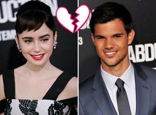 Taylor Lautner, Lily Collins, Twilight, Breaking Dawn - Taylor Lautner und Lily Collins sind kein Paar