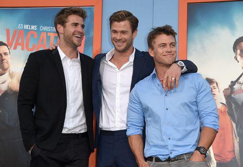 Liam und Luke Hemsworth unterstützten ihren Bruder Chris