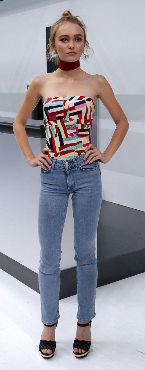 Lily-Rose Depp hatte einen stylishen Auftritt bei der Paris Fashion Week