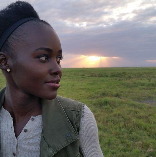 Lupita Nyong'o ist in Kenia angekommen