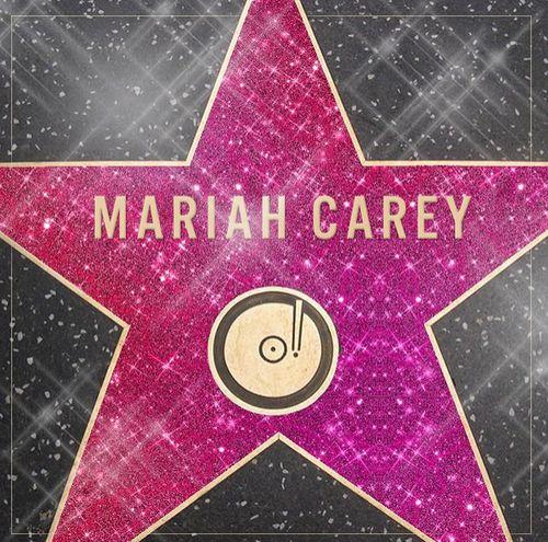 Mariah Carey bekommt eine Stern auf dem Walk of Fame