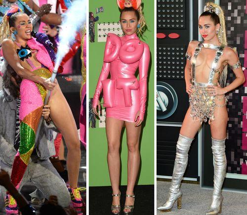 Miley Cyrus heizte dem Publikum bei den VMAs ordentlich ein