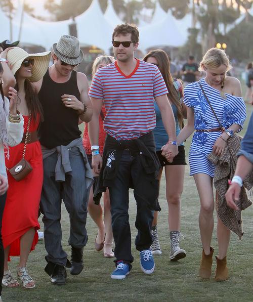 Nina Dobrev, Ian Somerhalder, Joshua Jackson und Diane Kruger waren zusammen unterwegs