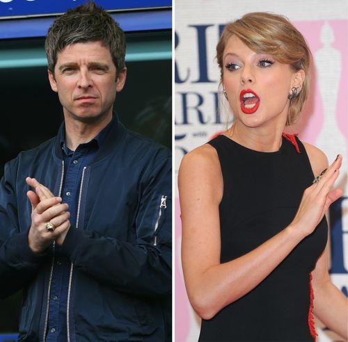 Noel Gallager hat offensichtlich etwas gegen Taylor Swift