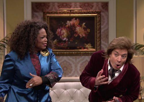 Oprah Winfrey war zu Gast bei Jimmy Fallon