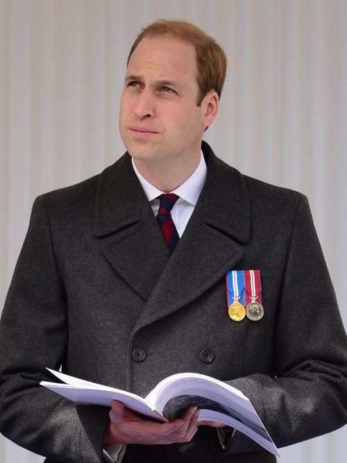 Prinz William nahm heute noch einen offiziellen Termin wahr