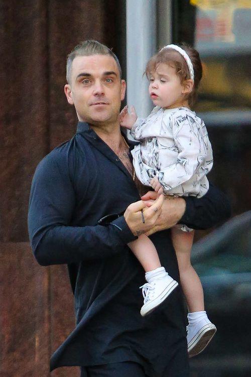 Robbie Williams ist ein stolzer Vater