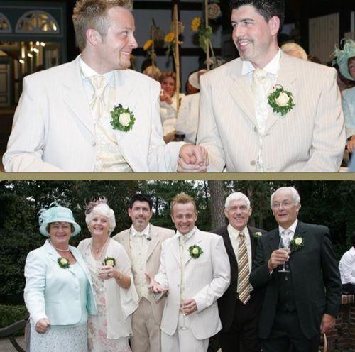 Ross Antony und Paul Reeves feiern heute ihren Hochzeitstag