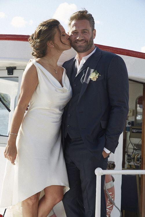 Sasha und seine Julia haben geheiratet