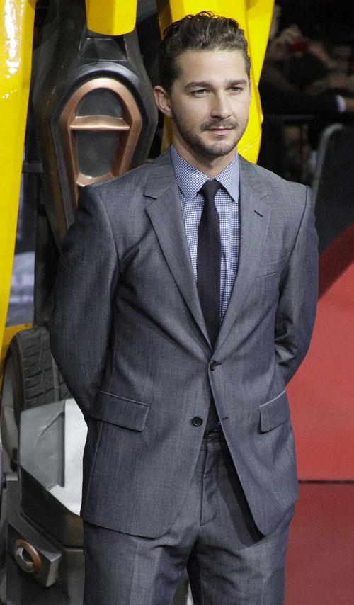 "Shia LaBeouf ist aktuell mit ""Transformers 3"" im Kino zu sehen"