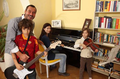 Silvan-Pierre Leirich und seine Familie wohnen in Berlin