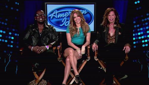 Steven Tyler schockte seine Jury-Kollegen Jennifer Lopez und Randy Jackson