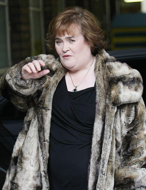 Susan Boyle hat einer Verwandten Geld geschenkt