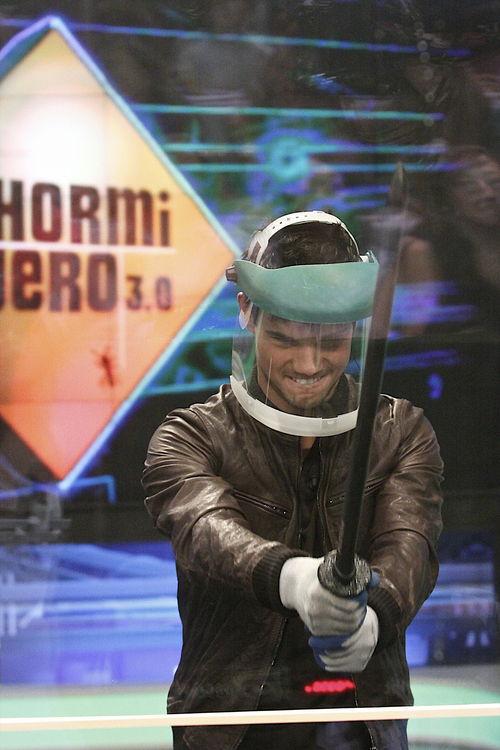 Taylor Lautner - Taylor Lautner trat im spanischen Fernsehen auf