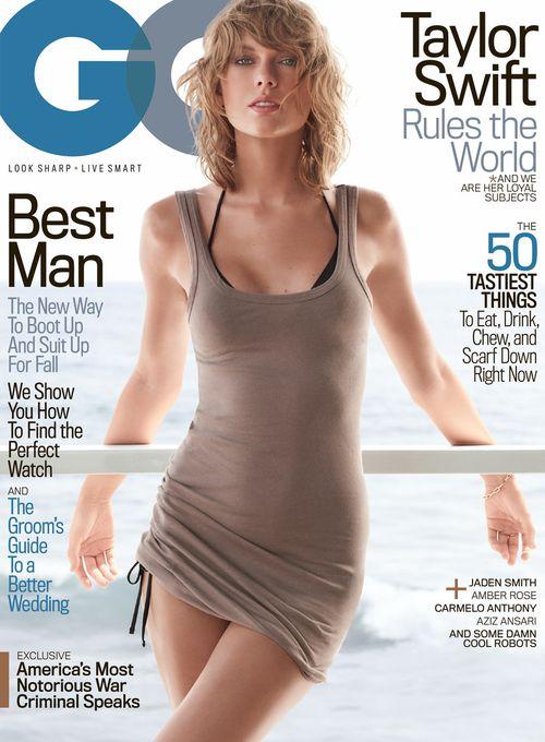"""Taylor Swift posierte zum ersten Mal für das Cover der """"GQ"""""""