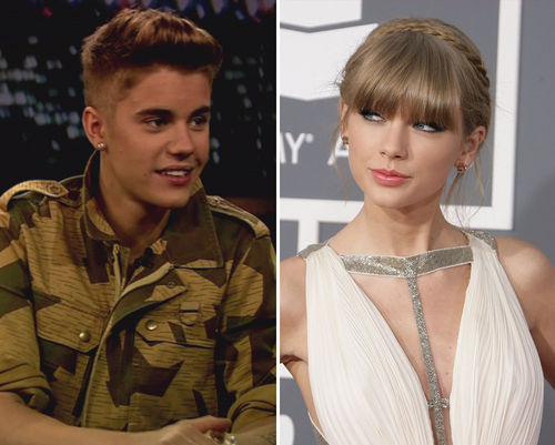 Taylor Swift hat anscheinend ein Auge auf den Biebster geworfen