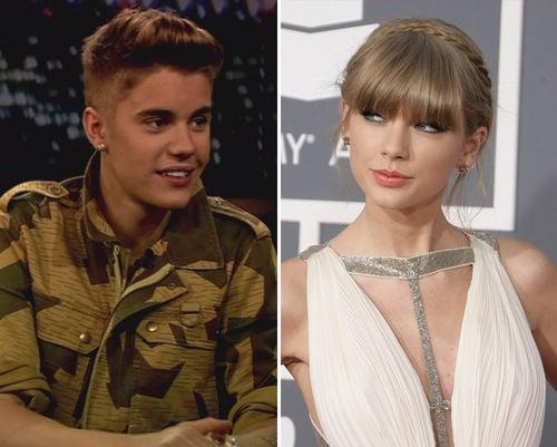Taylor Swift hat anscheinend ein Auge auf den Biebster geworfen
