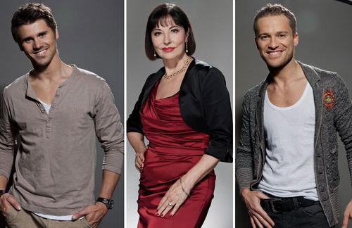 Die Verbotene Liebe-Stars Thore Schölermann, Isa Jank und Dominic Saleh-Zaki haben ganz eigene Lernmethoden