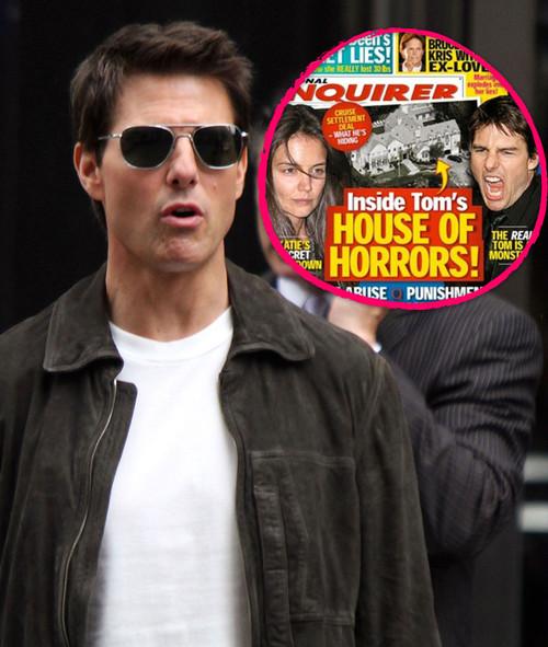 """Tom Cruise verklagt den """"National Enquirer""""  auf mehrere Hundert Millionen Dollar"""