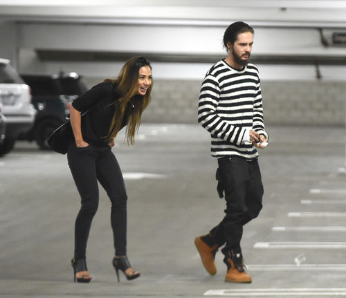 Tom Kaulitz with cool, hot, Girlfriend Ria Sommerfeld