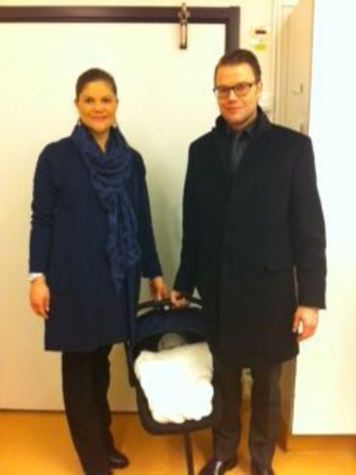 Victoria von schweden und daniel sind bereits zuhause angekommen