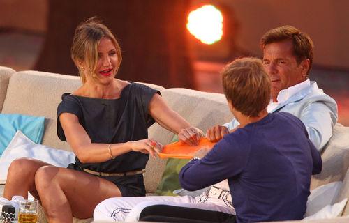 Sebastian Vettel gibt Dieter Bohlen Verhütungstipps